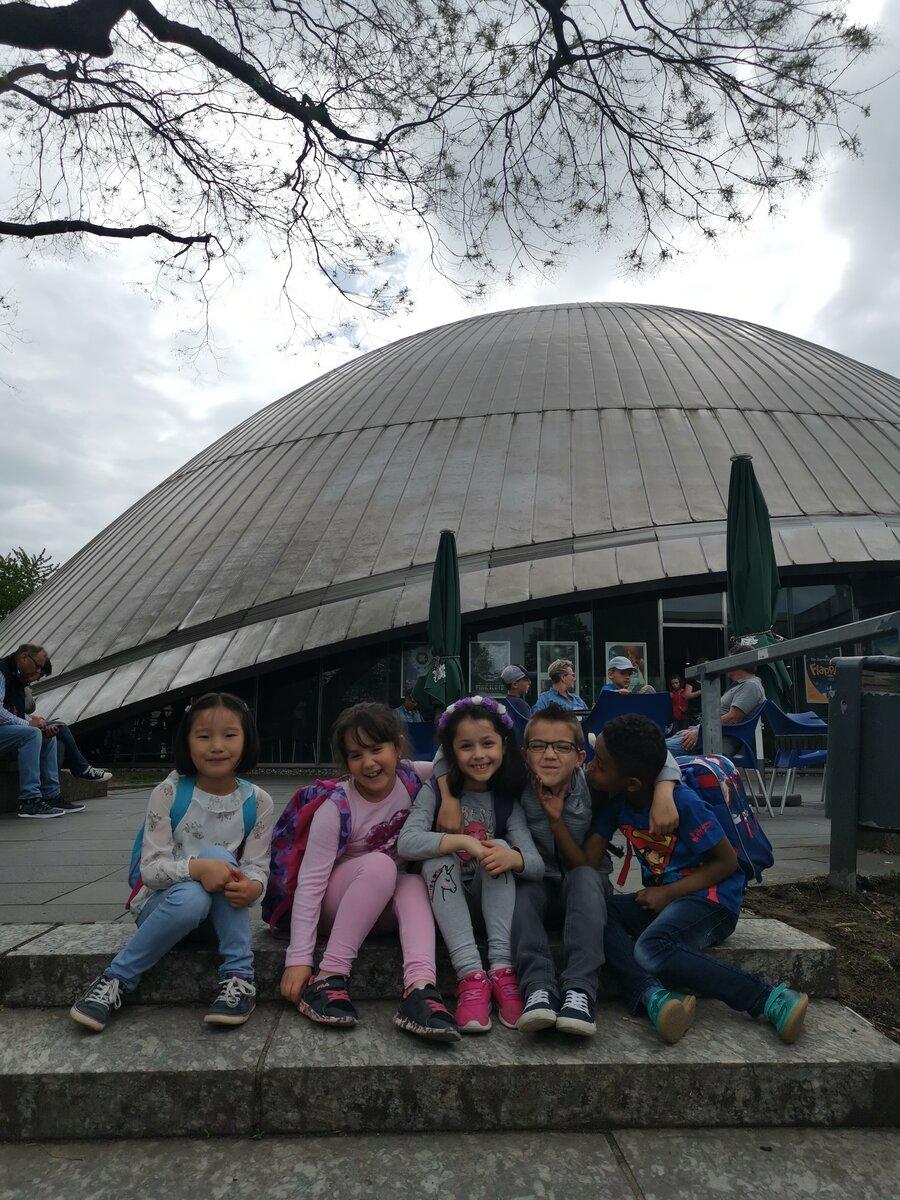 Ausflug ins Planetrium Bochum