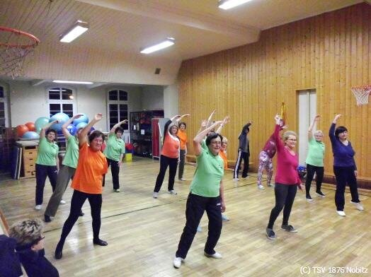 Gymnastikgruppe Jana Riedel