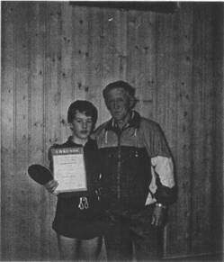 1. Kreismeistertitel 1991  D.Meisel, Trainer G.Schmutzler