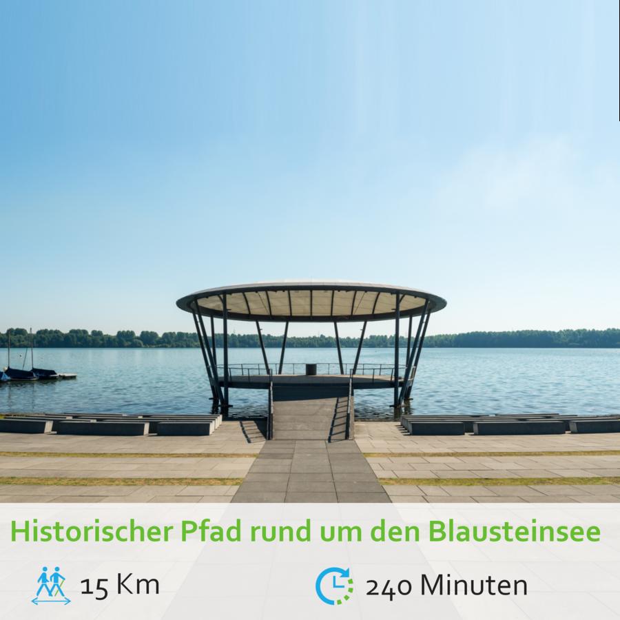 Historischer Pfad Blausteinsee