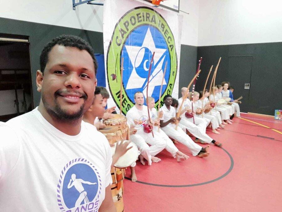 Capoeira Musiker
