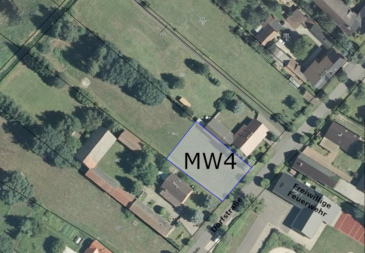 Baulücke MW4