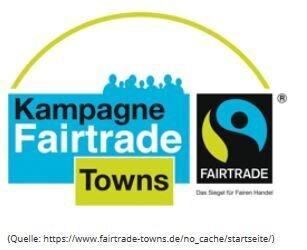 Dieses Bild zeigt das Logo der Kampange Fairtrade Towns