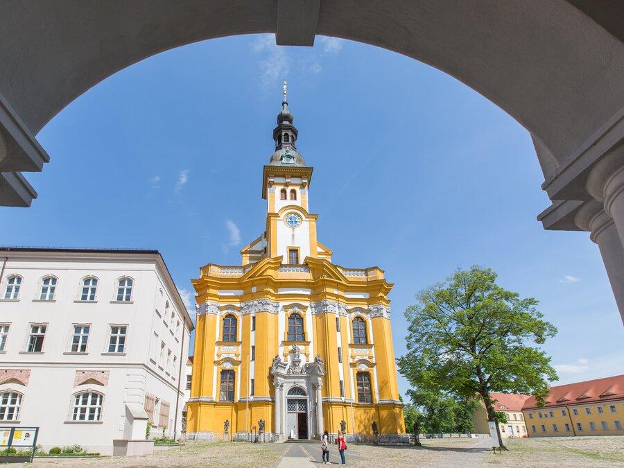 Kloster Neuzelle katholische Kirche Foto: Seenland Oder-Spree, Florian Läufer