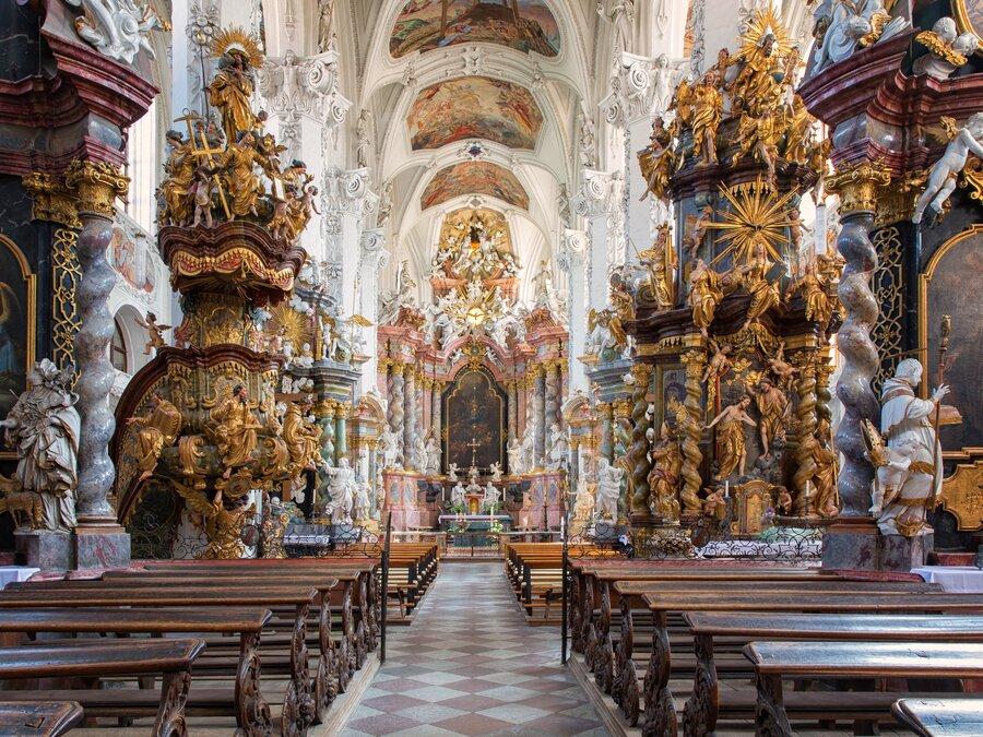 Kloster Neuzelle katholische Stiftskirche Kultur Foto: Seenland Oder-Spree, Florian Läufer
