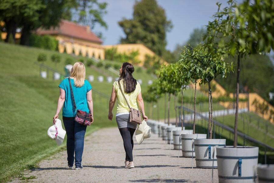 Kloster Neuzelle Klostergarten, Barockgarten Parks und Gärten Seenland Oder-Spree, Foto Florian Läufer