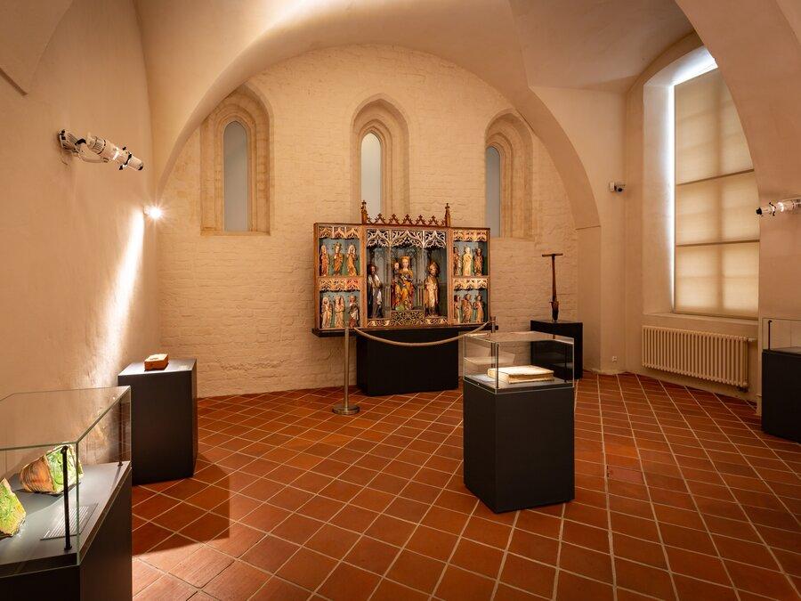 Kreuzgang Kloster Neuzelle, Museum, Geschichte, Kultur, Seenland Oder-Spree, Foto Florian Läufer