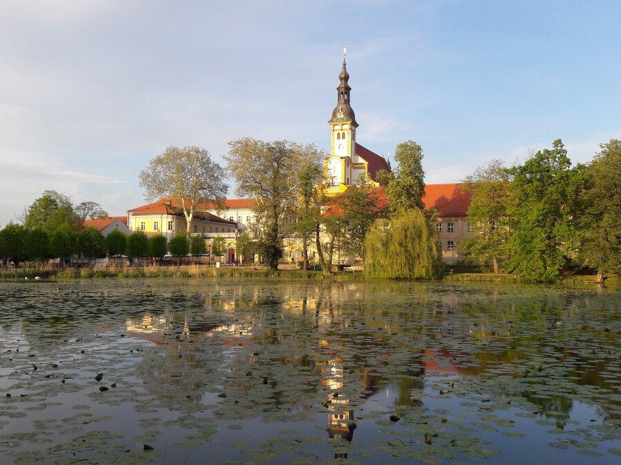Klosterteich 2019 Foto: Besucherinformation Neuzelle