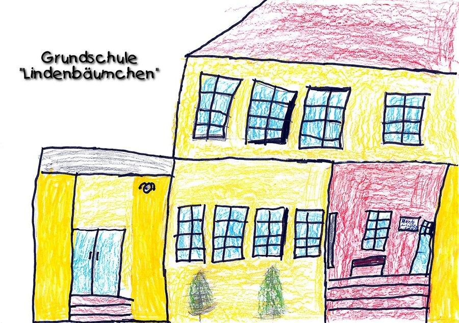 Zeichnung der Hortkinder