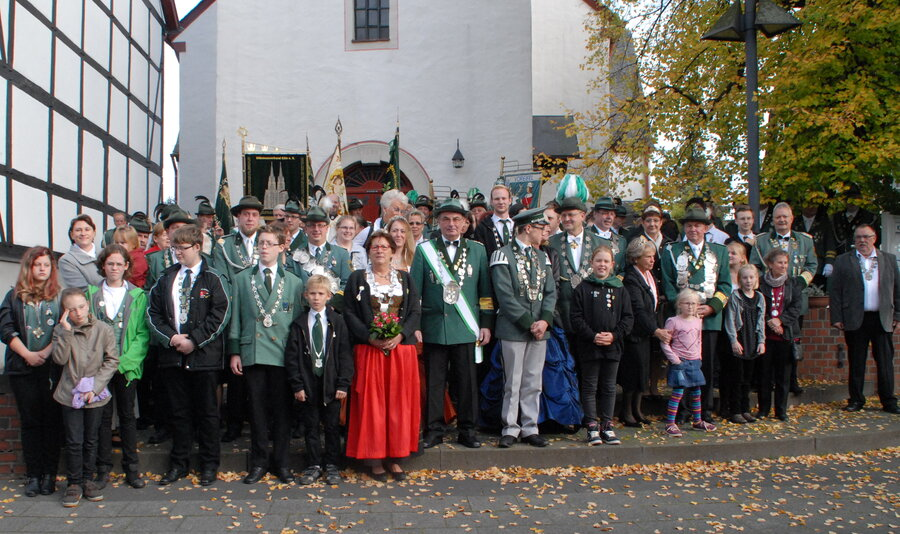 Bezirksschützenfest 2014 in Oberdrees