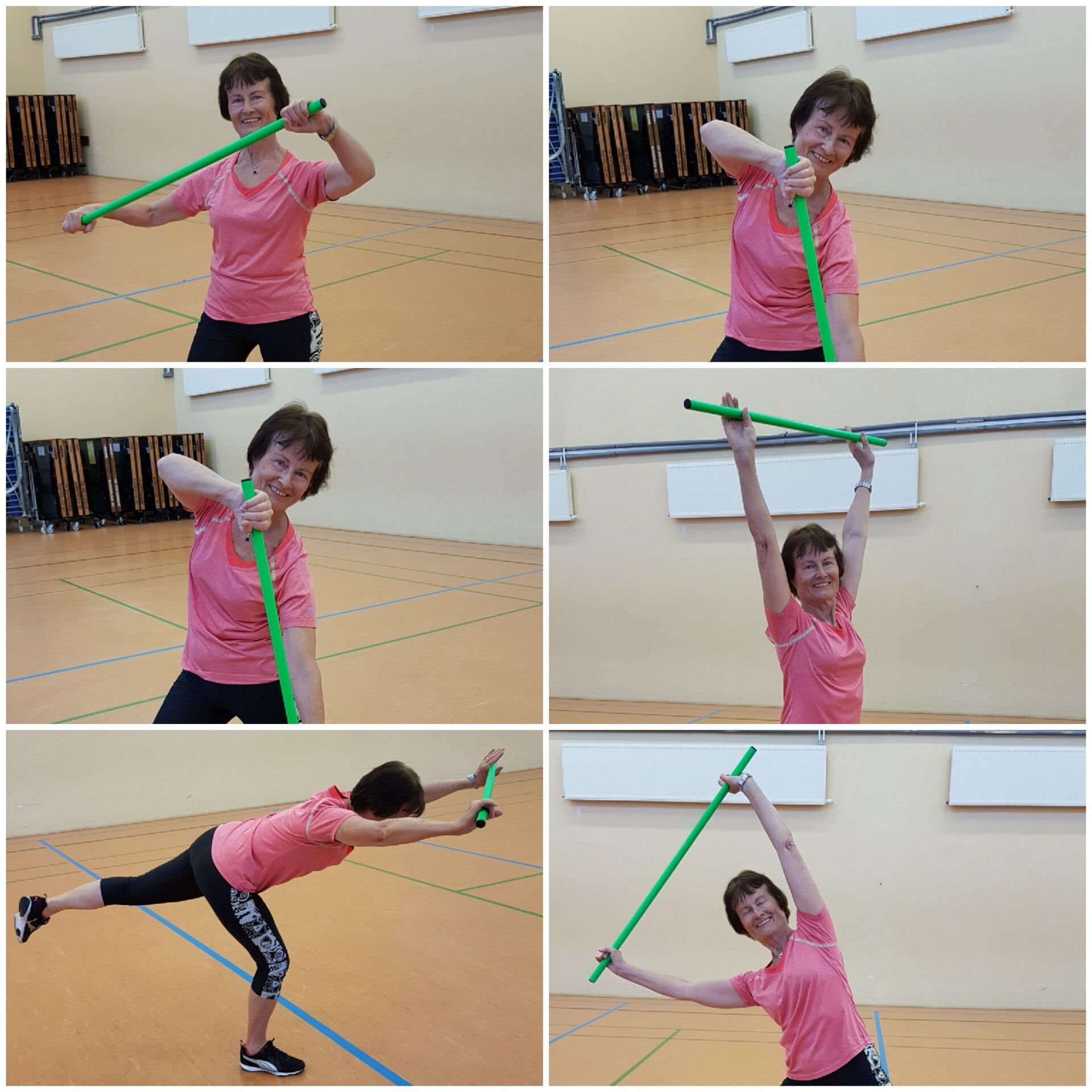 Stabgymnastik