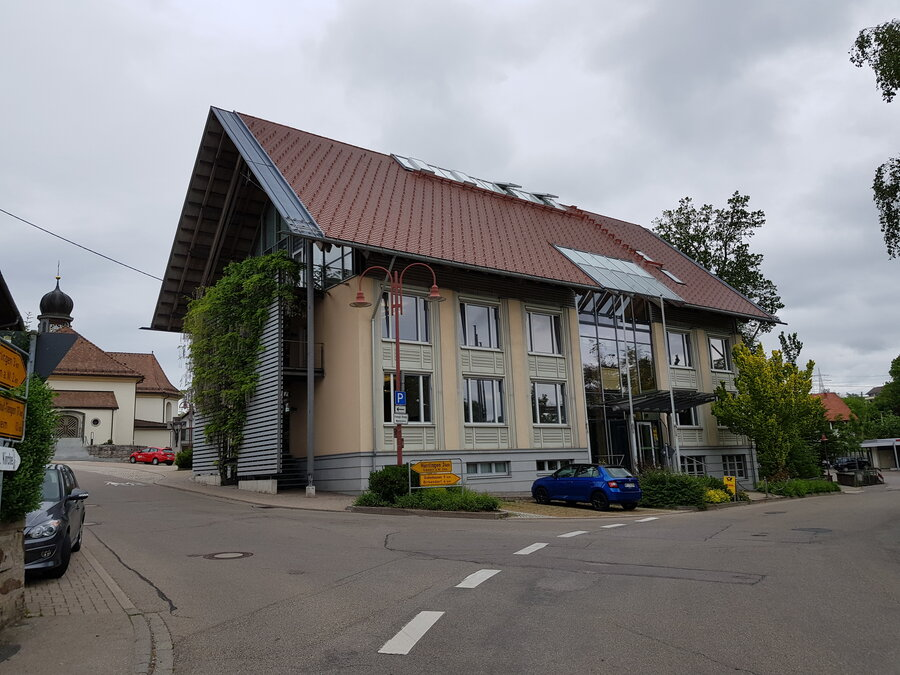 Dachfläche Rathaus (PV-Anlage in Planung)