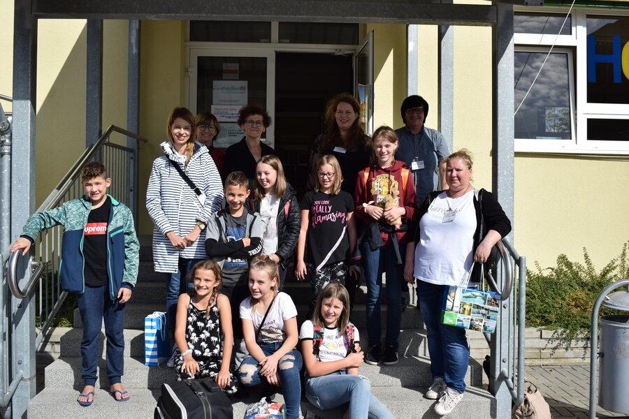 Unsere polnischen Gäste