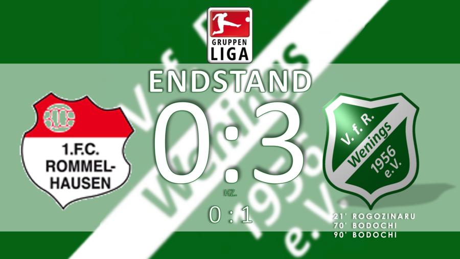 Endstand - 8. Spieltag