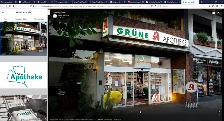 gruene apotheke