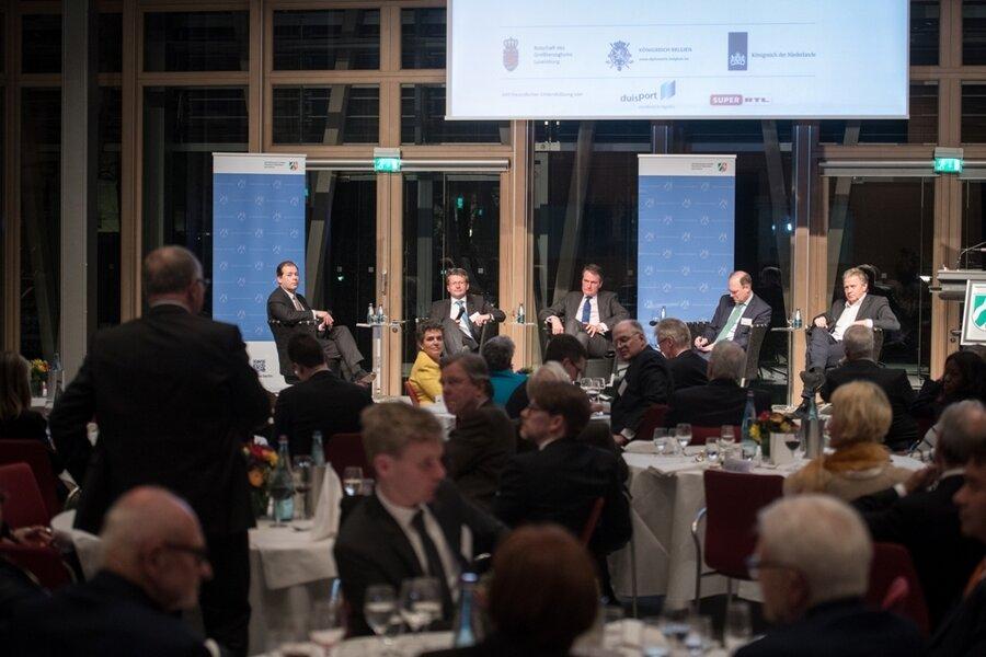 Abendveranstaltung am 14.03.2019 in der Landesvertretung Nordrhein-Westfalen: Europa neu denken: Benelux und NRW als Vorbild