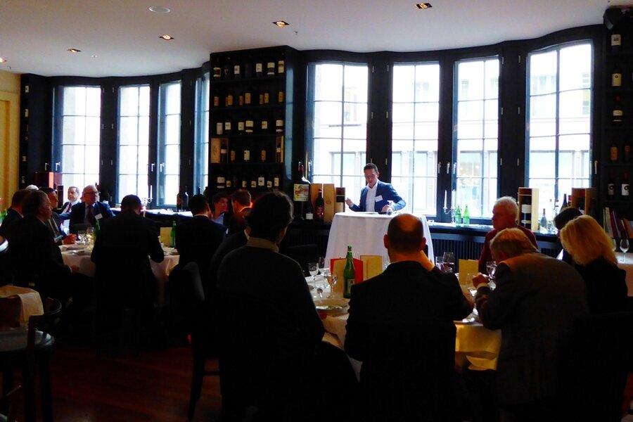 Politisches Mittagessen am 13.03.2019 im Restaurant Bocca di Bacco mit Falko Mohrs