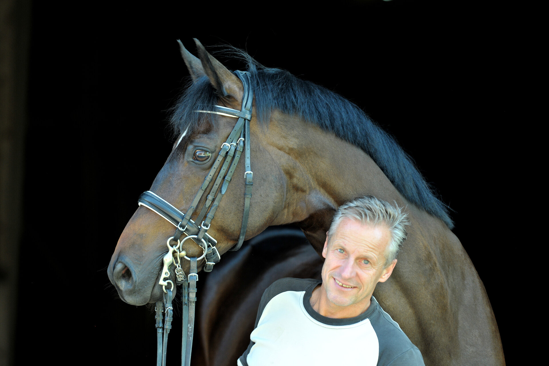 Manfred Eichhorn with Harribo