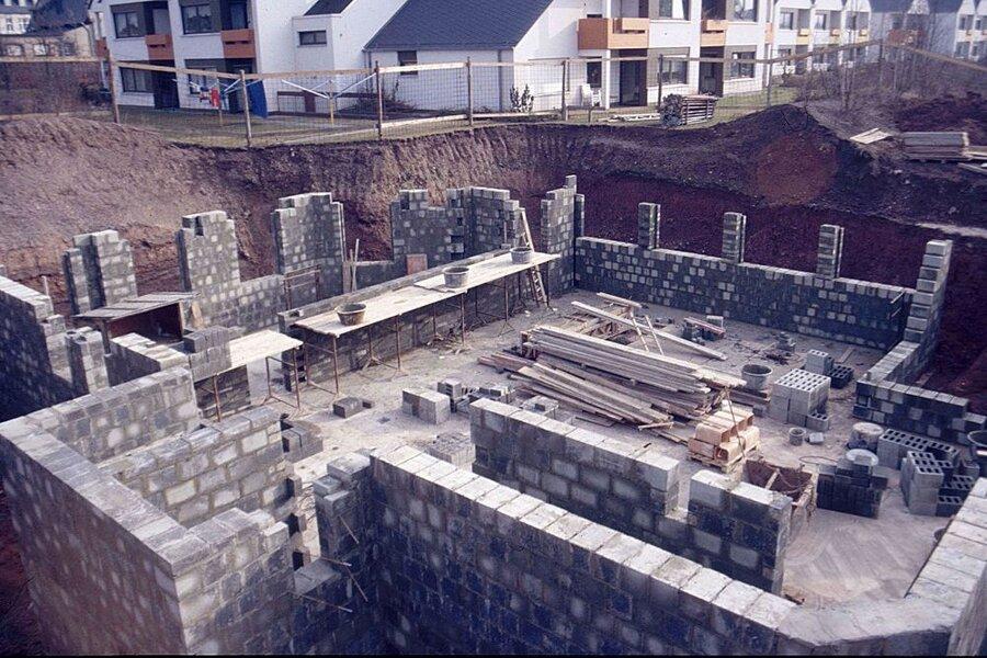 Bau des Zentrums