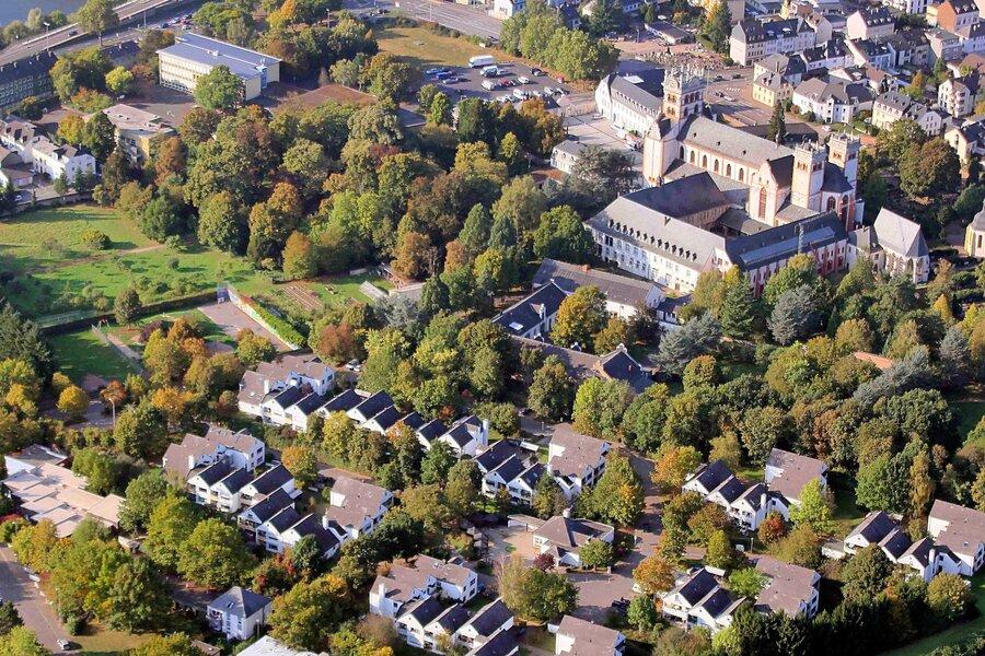 Luftbild Schammatdorf