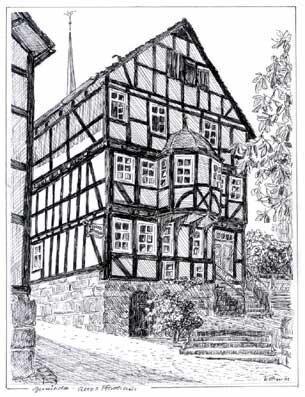 Das ehemalige reformierte Pfarrhaus