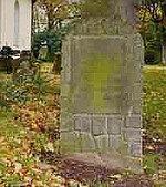 Das Grab der Dora Klages auf dem Escheder Friedhof