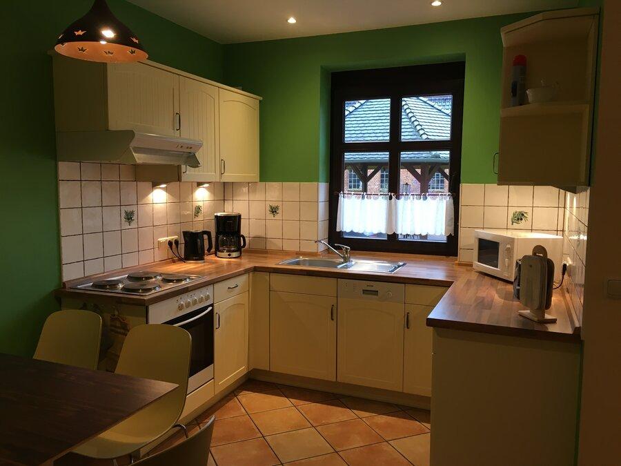 Küche im Fachwerkhaus