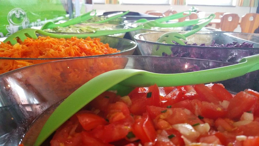 unsere Salatbar