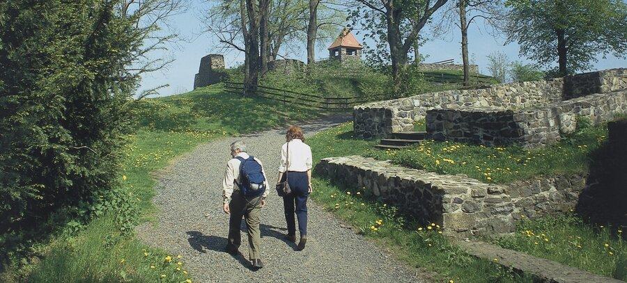 Wanderer Schlossberg