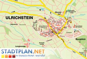 Stadtplan Ulrichstein