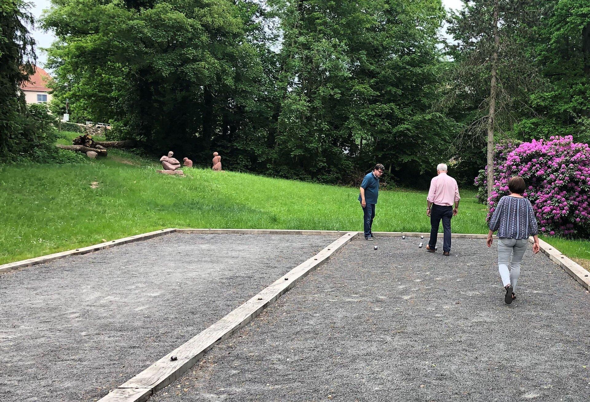 Boule-Anlage Schlosspark