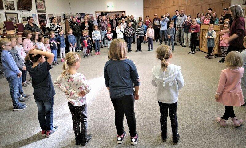 """Die """"kleine Gruppe"""" der 6-10jährigen"""