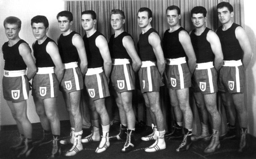 v.l.n.r.: Wolsing, Müller, Schmellenkamp, Gilbert, Stratmann, Tepper, Abelsmann, Stolzenburg, Drafz.