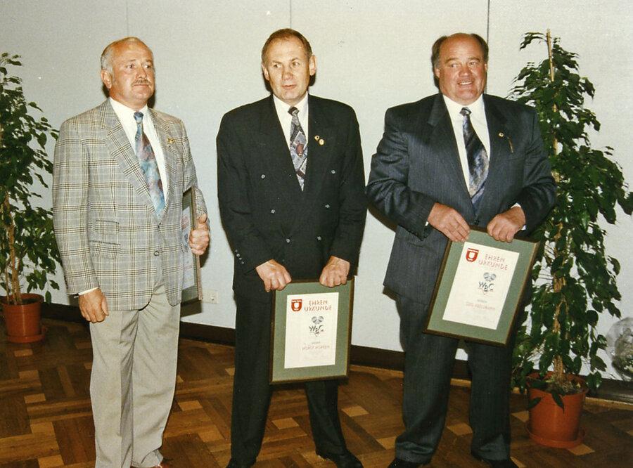V.l.n.r.: Schulz, Höpken, Abelsmann