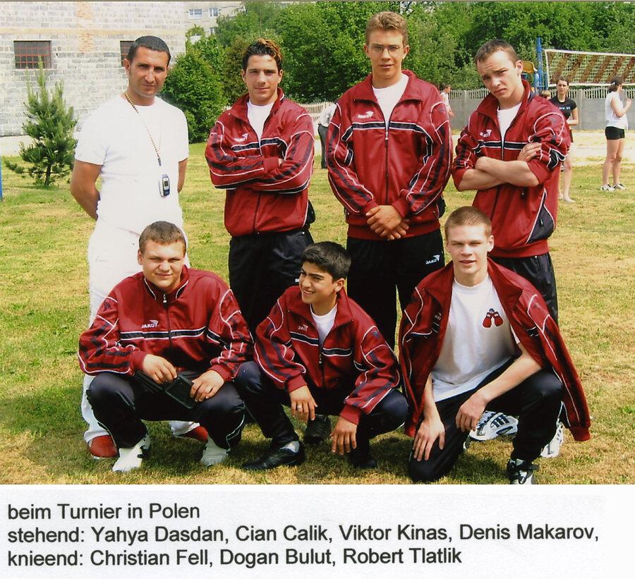 Denis Makarov wurde später Europameister.