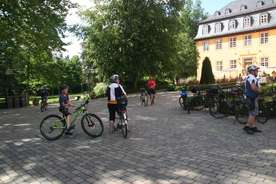 Radler-Einkehr Schloss Gedern
