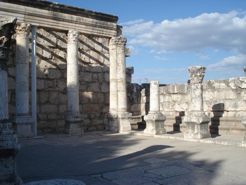 Römische Ruinen im heutigen Israel