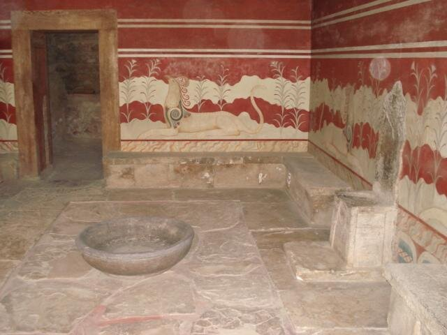 Palast des Knossos auf Kreta