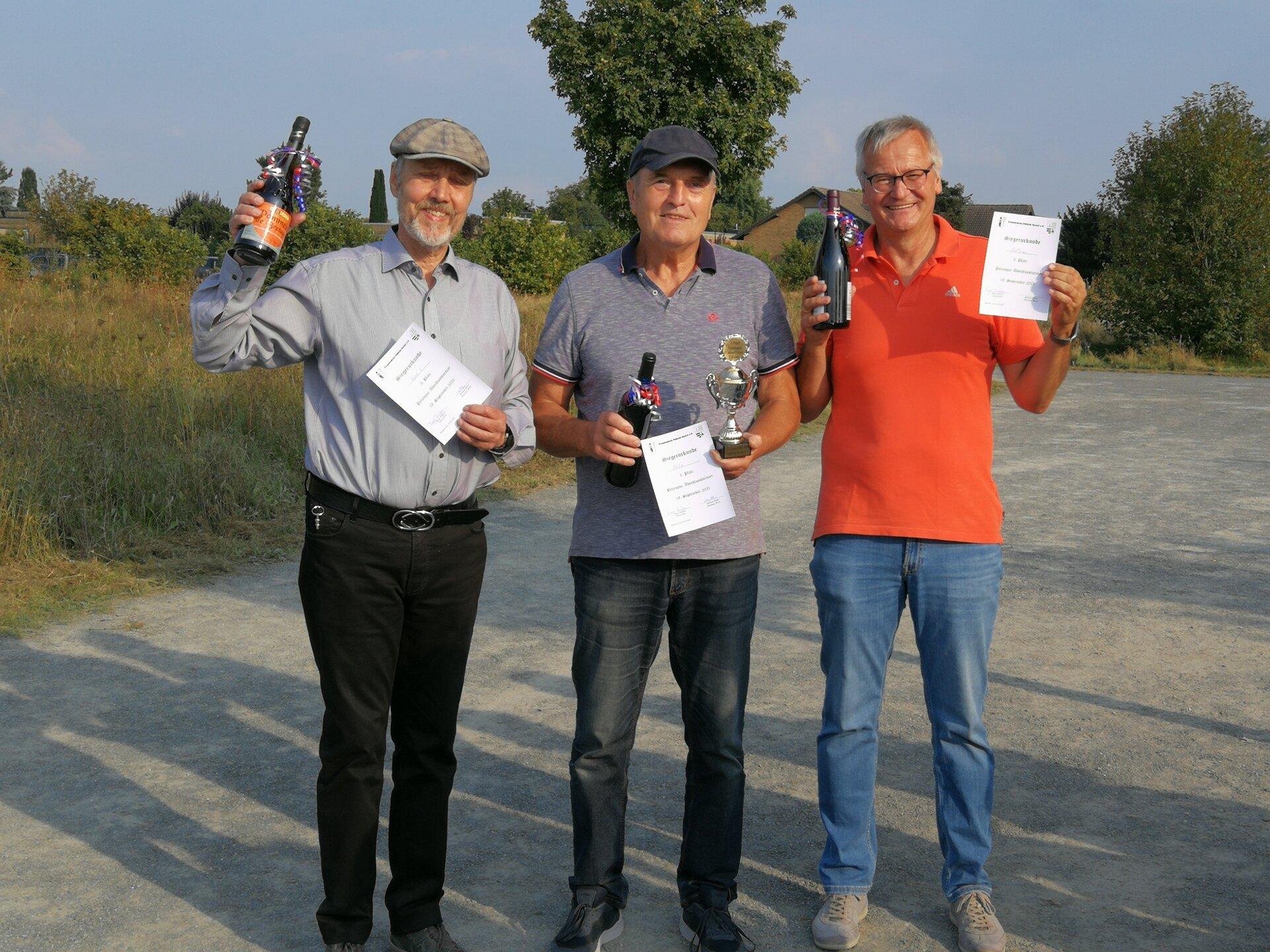 Sieger Petanque-Turnier 2021