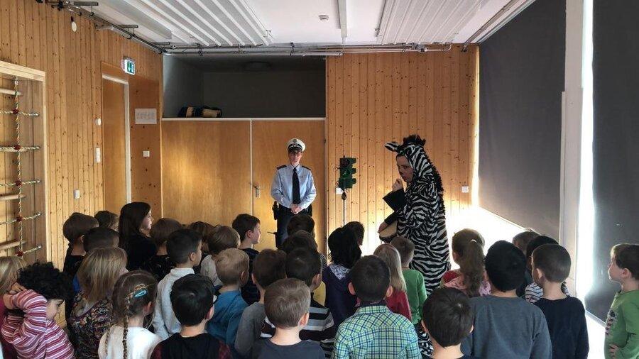 Das kleine Zebra in Freiberg a. N.