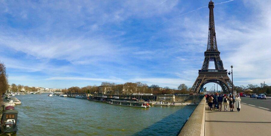 Zwischenstop in Paris