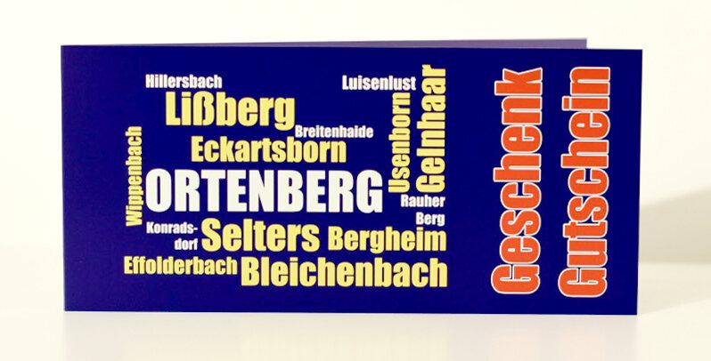 Ortenberger Geschenkgutschein