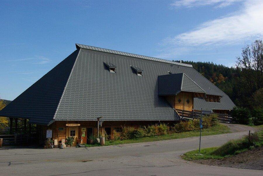 Hofhaus von der Seite