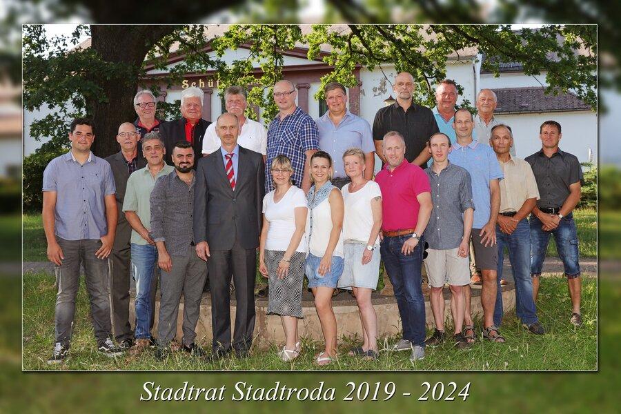 Mitglieder Stadtrat Stadtroda 2019