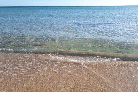 Kristallklares Ionisches Meer bei San Pietro