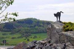Statue am Katzenbuckel