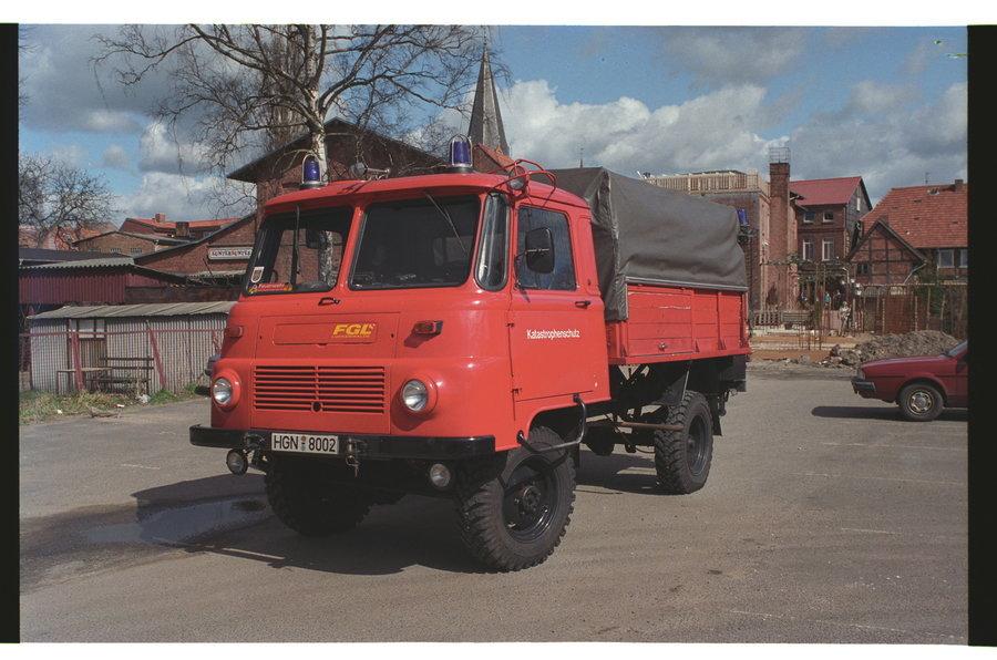 Hilfsrüstwagen LO Robur