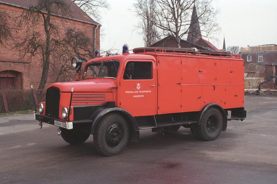 Schlauchkraftwagen