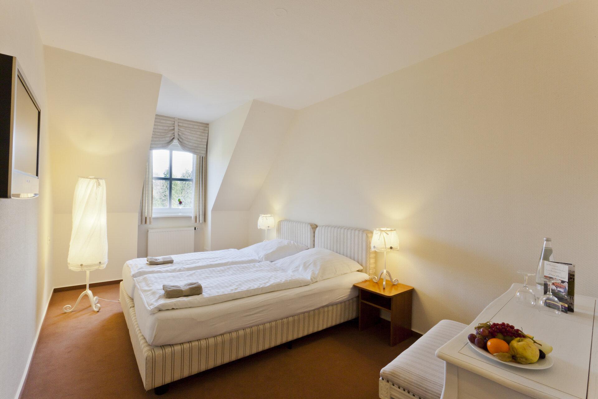 Zimmer im Haupthaus Foto: Bernd Geller