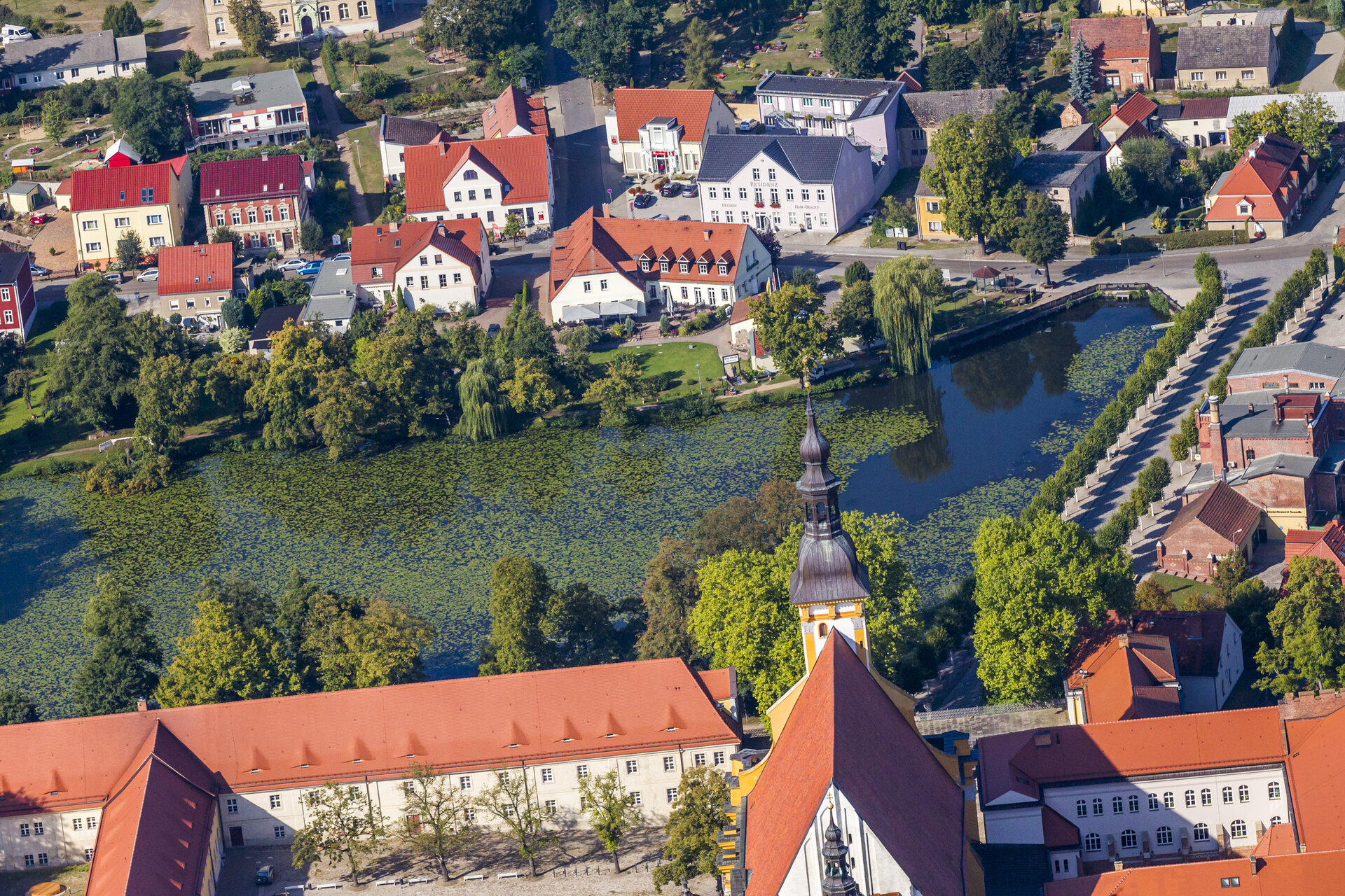 Luftbildaufnahme Prinz Albrecht Foto: Bernd Geller